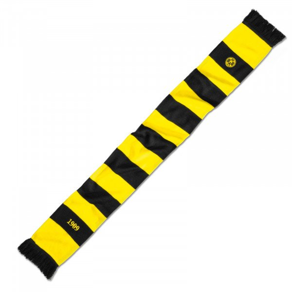 BVB scarf with block stripes