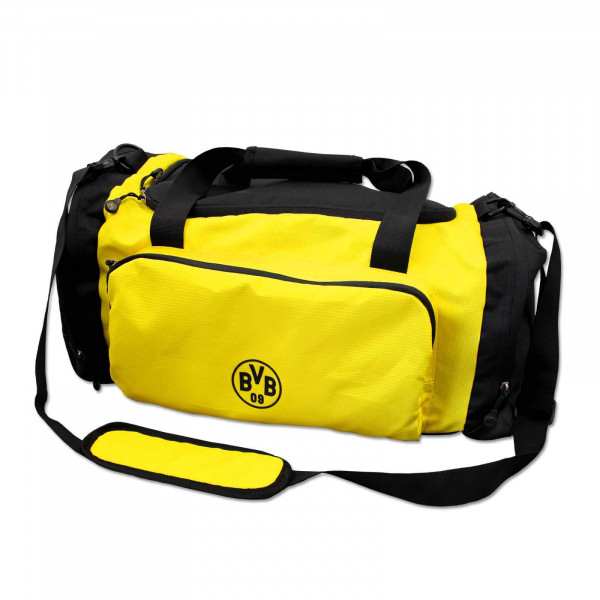 BVB Sports Bag Black and Yellow