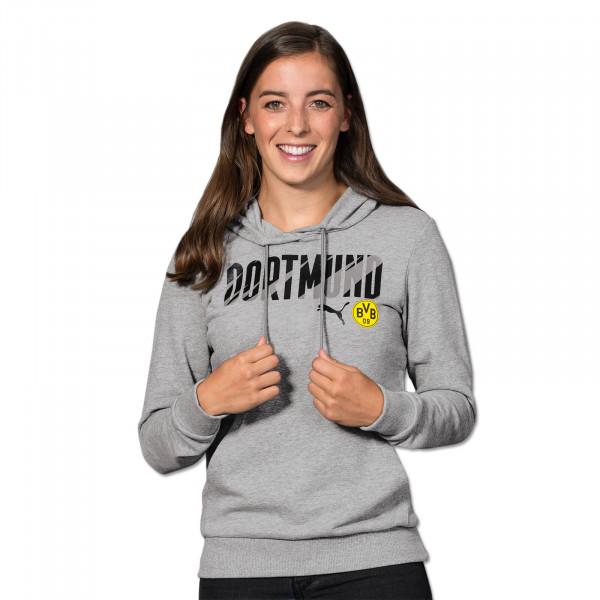 BVB Hoodie Dortmund 20/21 for Women (Grey)