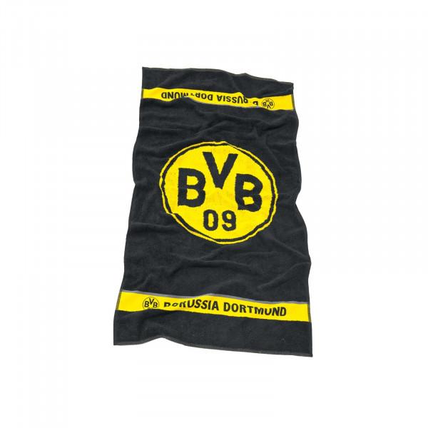 Serviette BVB avec emblème 50x100 cm
