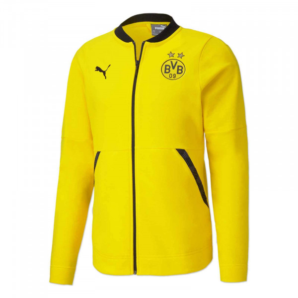 BVB leisure jacket 20/21 (yellow)