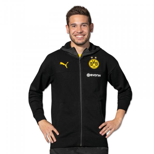 BVB hooded sweat jacket 19/20
