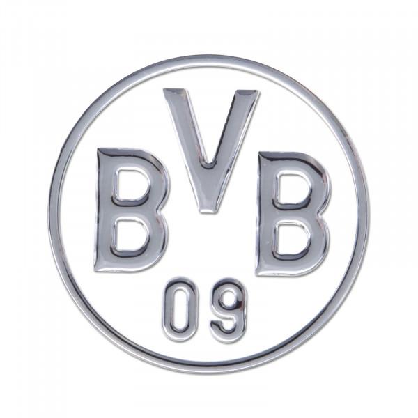BVB car sticker (silver)