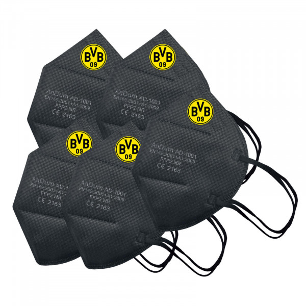 BVB FFP2 Mask 5-Pack