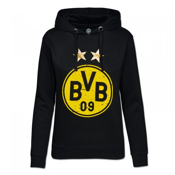 Sweat capuche avec logo BVB pour femmes