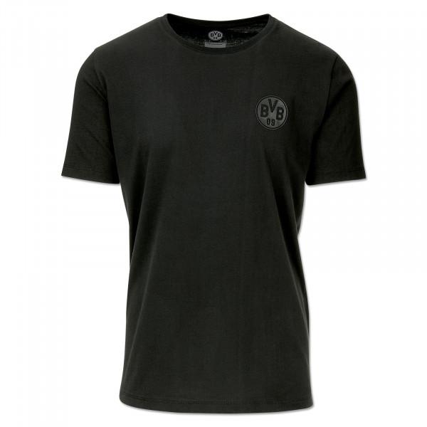 BVB T-Shirt black on black for men