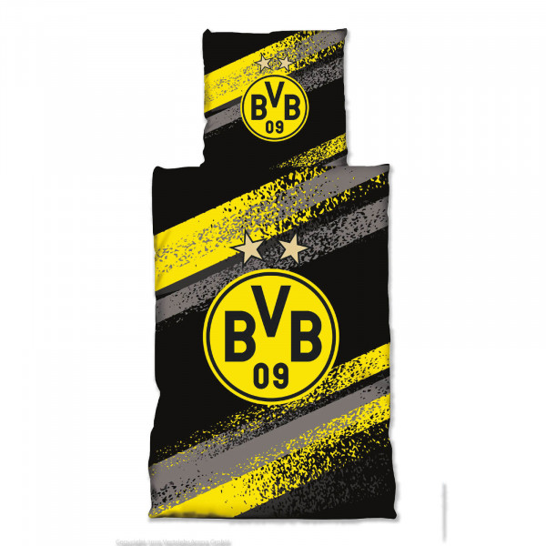 BVB Bed Linen Graffiti Stripes