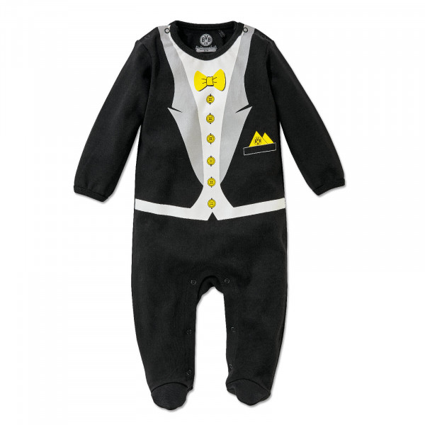 BVB Baby Romper Suit with Bow Tie
