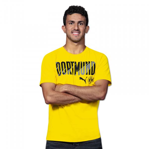T-shirt BVB Dortmund 20/21 (jaune)