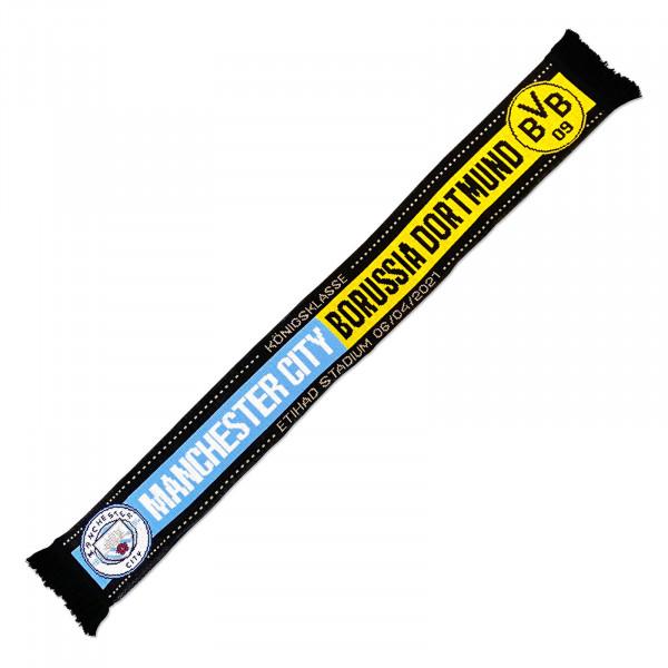 BVB CL match scarf Manchester City