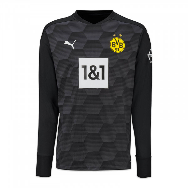 BVB Goalkeeper Jersey 20/21 Kids (black)