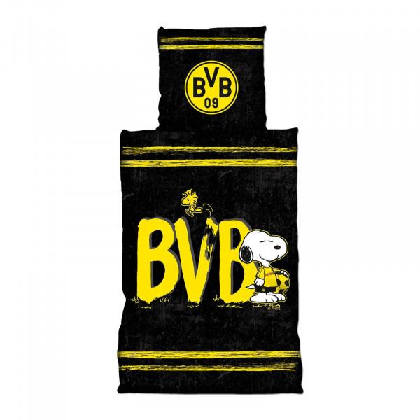 "BVB bed linen ""Snoopy"" (135 x 200 cm)"