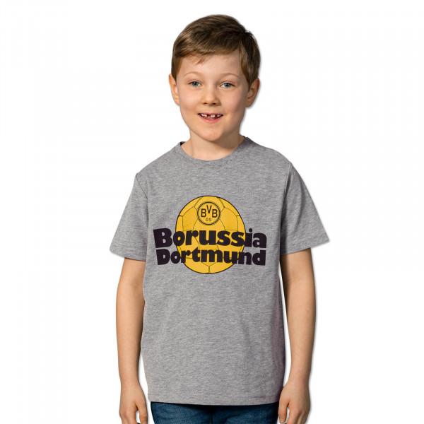 BVB Retro T-Shirt for children grey