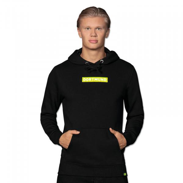 """BVB-Box Sweater à capuche logo néon """"Néon"""", noir"""