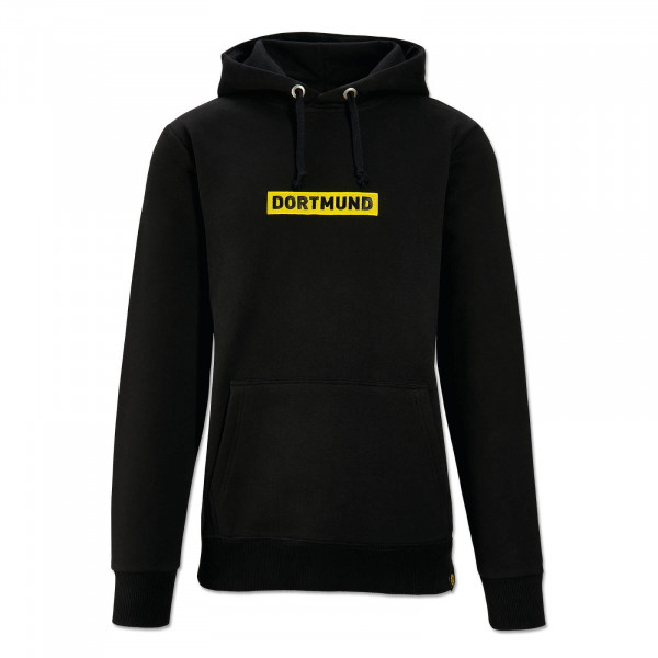 BVB BOX LOGO Hoodie for Men (Black)