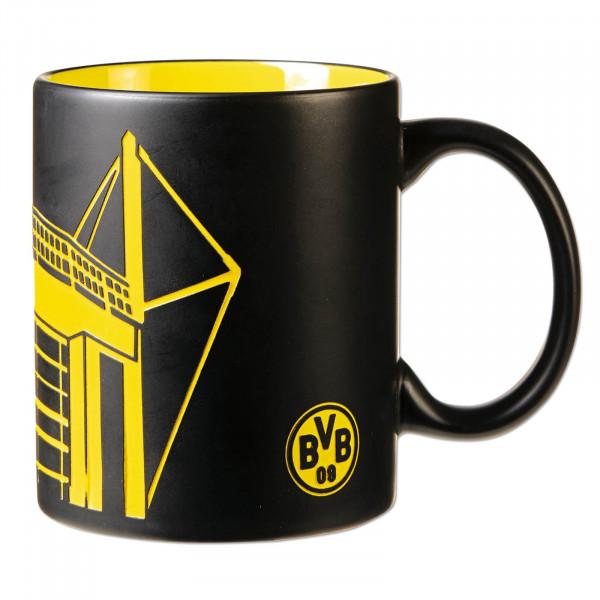 BVB mug with stadium silhouette