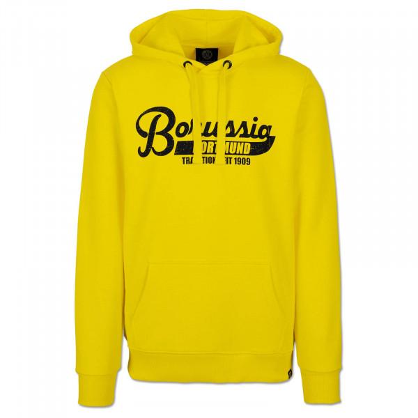 BVB Basic Hoodie Men yellow
