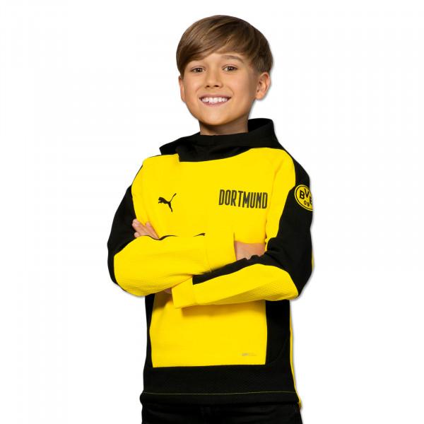 BVB Hoodie Evostripe (Yellow) for Kids