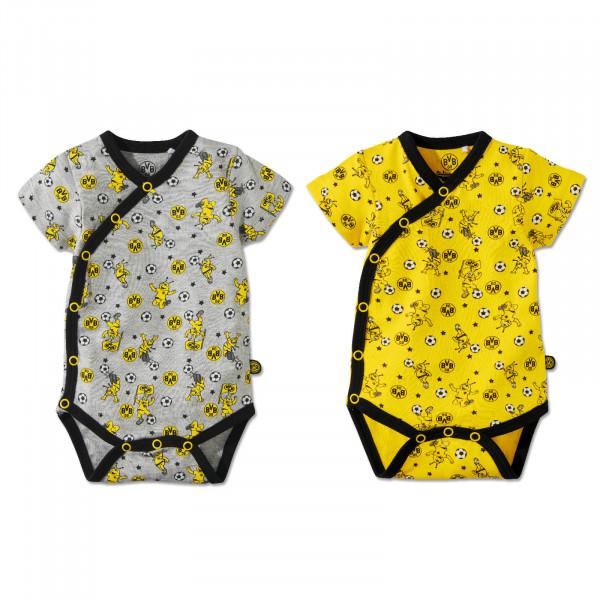 EMMA Wrapover Bodysuit body (Set of 2)