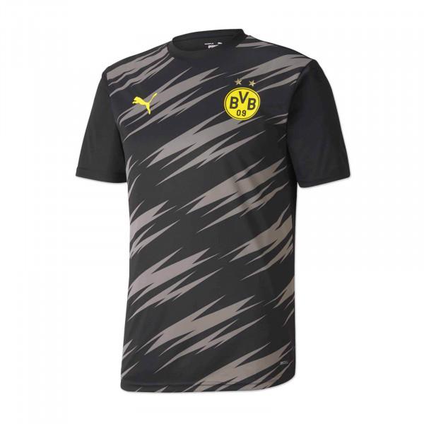 Camiseta de calentamiento del BVB (1.ª equipación) para niño 20/21