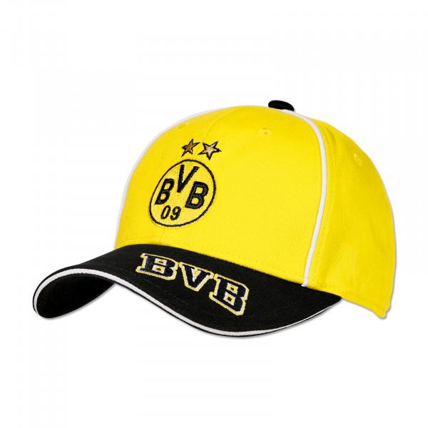 Casquette jaune BVB pour enfants
