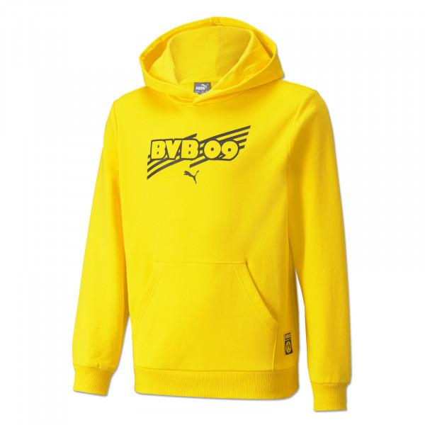BVB Hoodie Ftbl Core (Yellow) for Kids