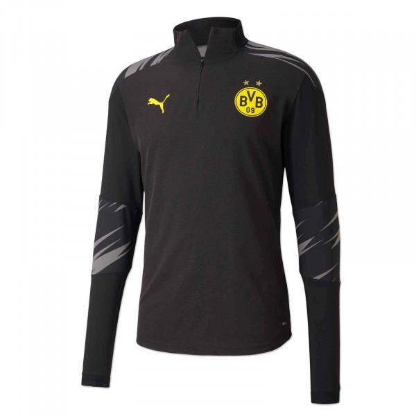 BVB Zip Warm Up Shirt 20/21 (home)