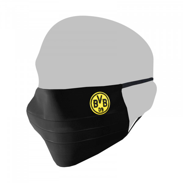 BVB Cotton Mask Black
