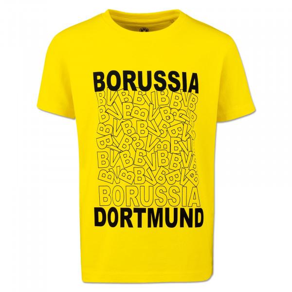 BVB Kids T-Shirt Yellow