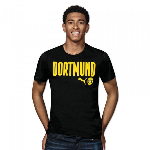 BVB T-Shirt Dortmund 20/21 (Black)