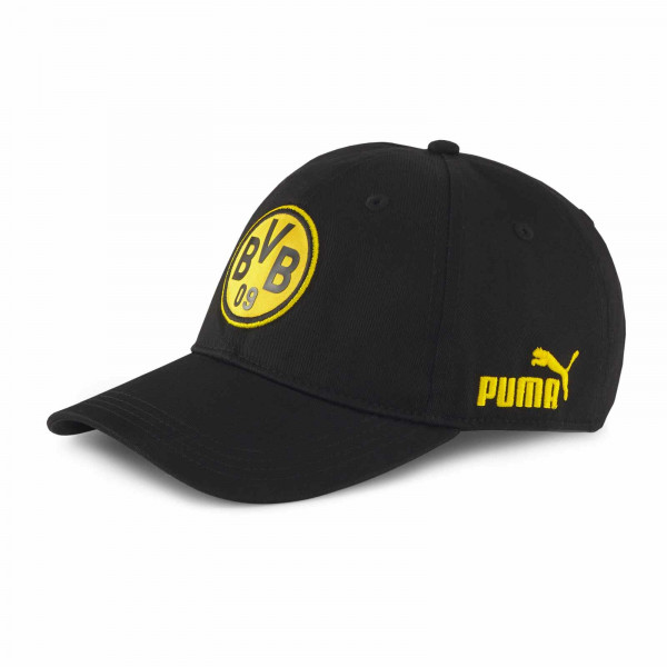 BVB Baseball Cap Ftbl Culture (Black)