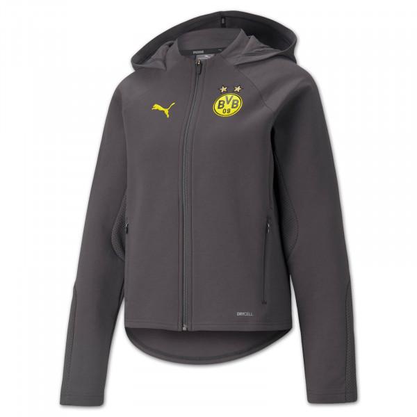 BVB Casual Jacket 21/22 (Asphalt) Women