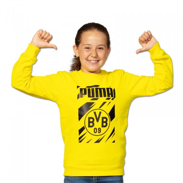 BVB Sweatshirt Ftbl Core 20/21 Kids (Yellow)