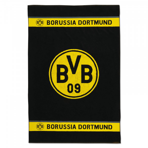 BVB Bath Towel with Emblem 100 x 150 cm