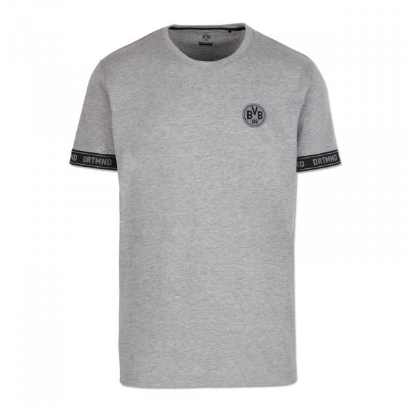 Camiseta BVB DRTMND para niños, gris melange
