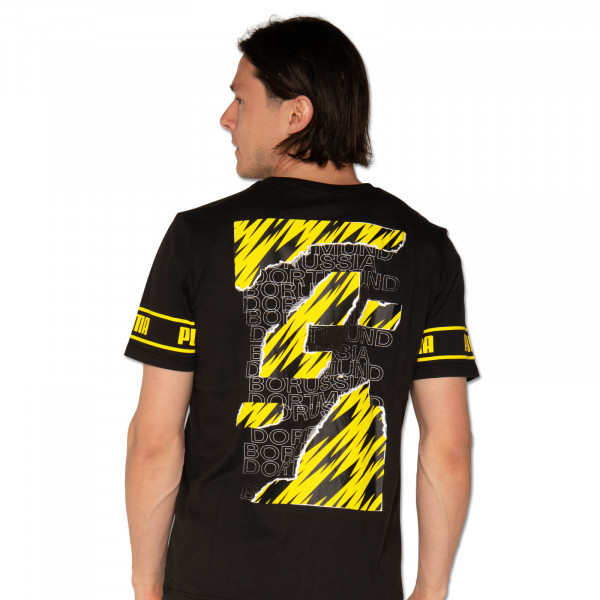 BVB T-Shirt Ftbl Culture 20/21 (Black)