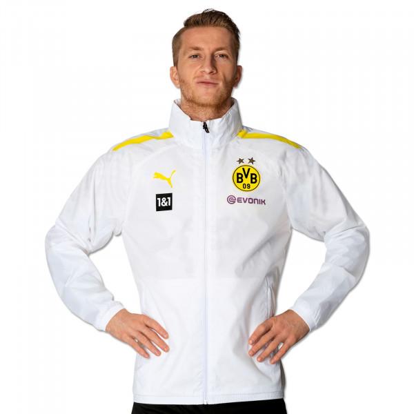 BVB Training Rain Jacket 21/22 (white)