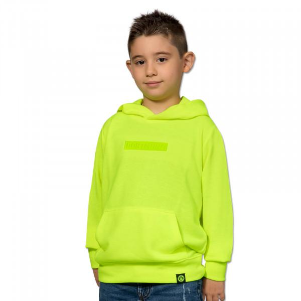 "BVB Box Logo Hoodie ""Neon"" for Kids"