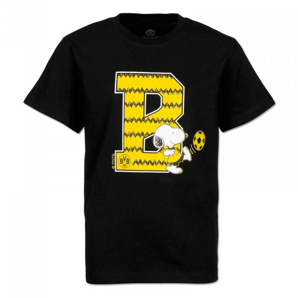 Snoopy T-Shirt Black B