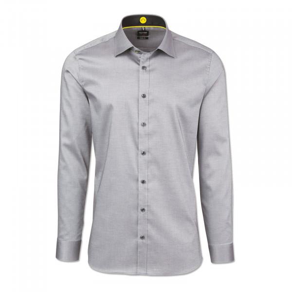 BVB Shirt (Checked, Slim Fit)