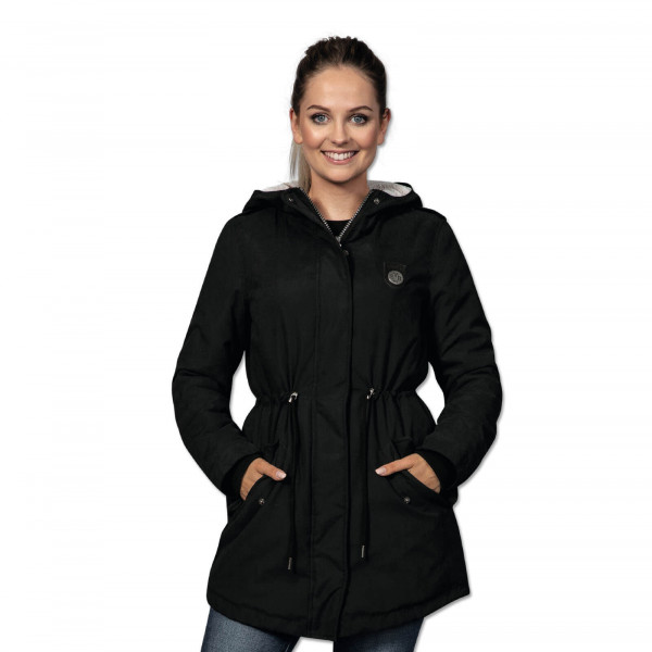 BVB teddy parka for women