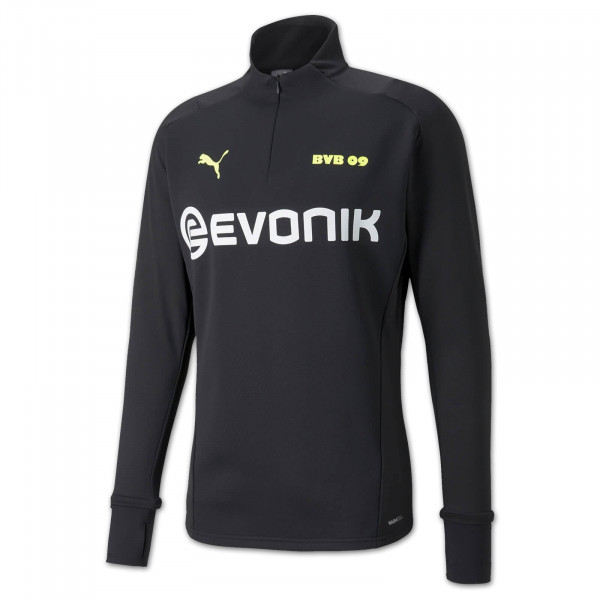 BVB training fleece jacket 21/22 (black-neon)