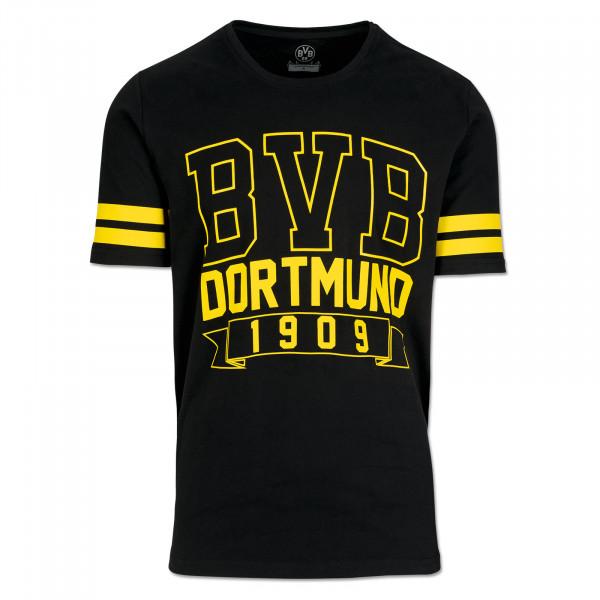T-Shirt basique BVB pour homme, noir