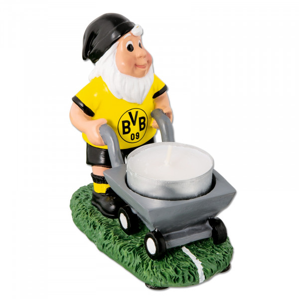BVB garden gnome with tea light holder