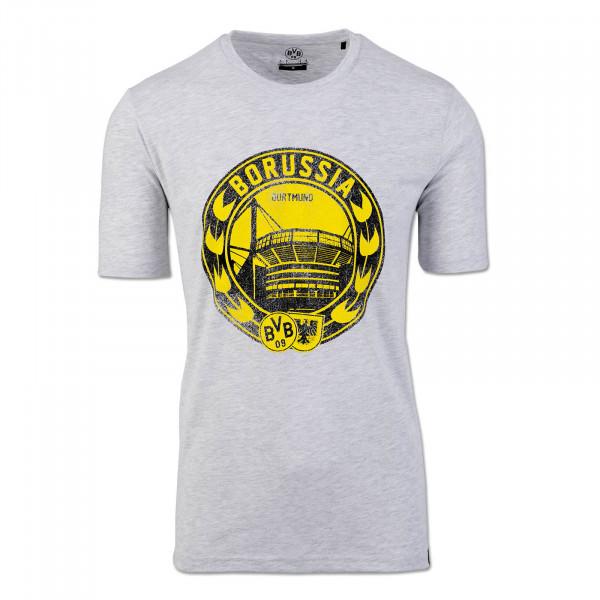BVB Men's T-Shirt Grey
