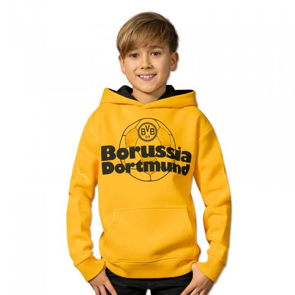 BVB Retro Hoodie for children yellow