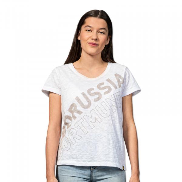 T-Shirt blanc BVB Streetwear, pour femmes
