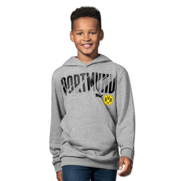 BVB Hoodie Dortmund 20/21 for Kids (Grey)