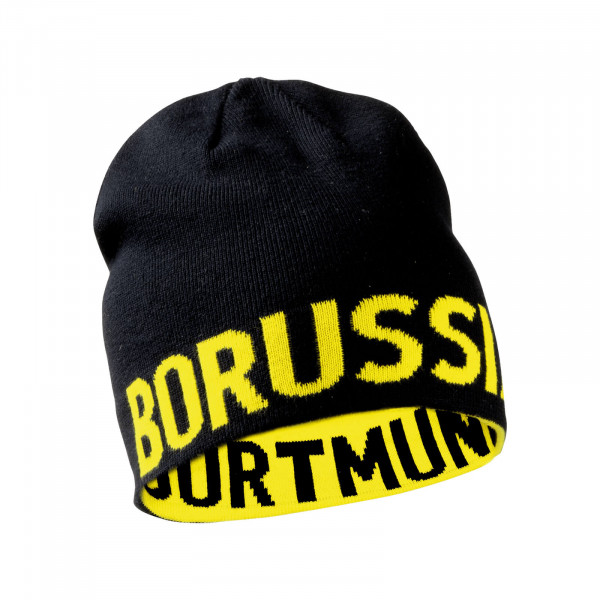 Bonnet réversible BVB Borussia Dortmund pour enfants