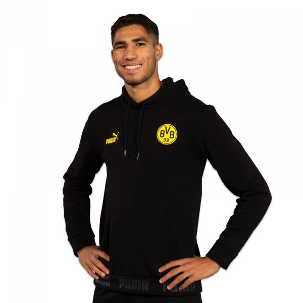 "BVB hooded sweatshirt ""black culture"" 19/20 (PUMA)"